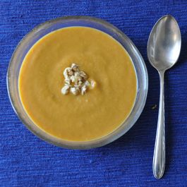 Creamy Bay and Cumin-Scented Carrot Soup