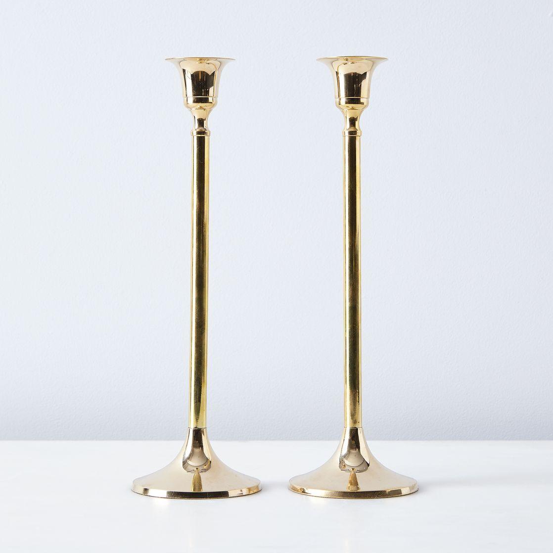 Brass Candlesticks food52 vintage-inspired brass candlesticks (set of 2) on food52