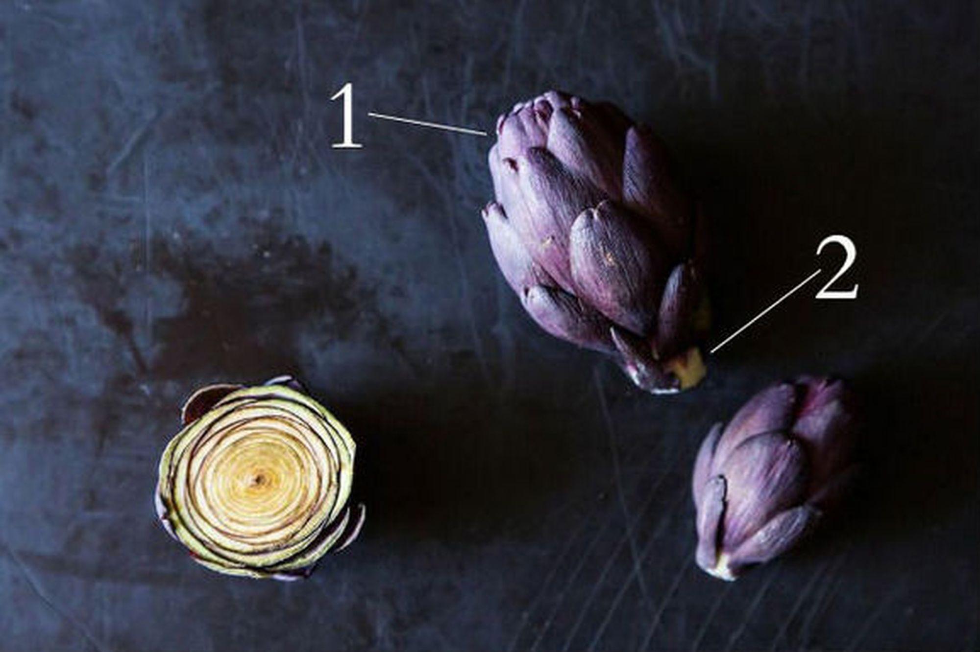 Baby Purple Artichokes: Small Size, Big Heart