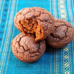 Chocolate beetroot brownie bites