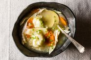 Chicken And Lemon And Herb Dumplings