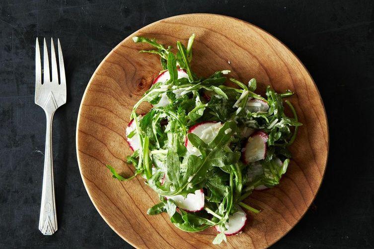 Radish and Arugula Salad
