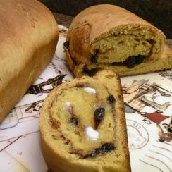 Butternut - Apple Butter Bread with a Cinnamon Raisin Swirl