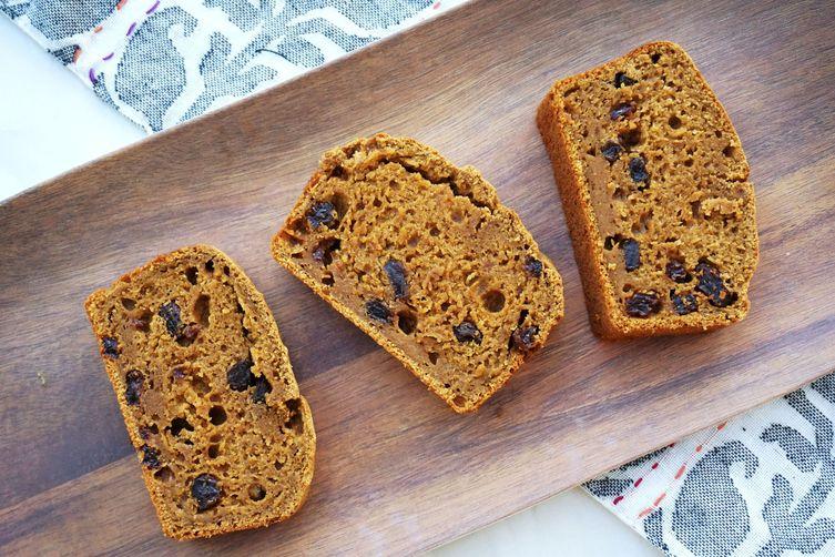 Sweet Potato Cinnamon Raisin Bread