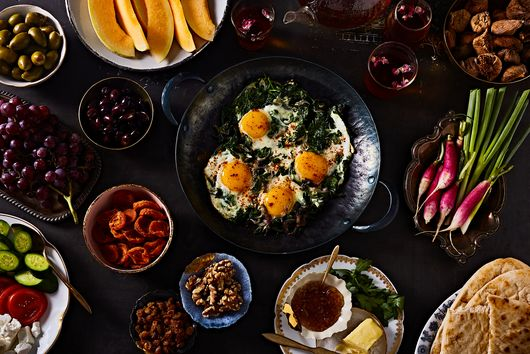 The Art of Persian Brunch—& the Spinach Eggs That Tie It All Together
