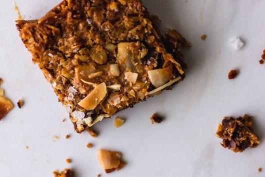 Peanut Butter Oat Breakfast Bars