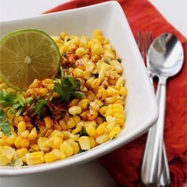 Sweet Cup Corn with Fresh Garlic-Cilantro Butter