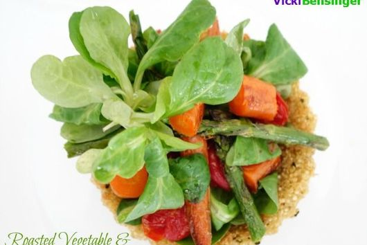 Roasted Vegetables & Quinoa Tartlets