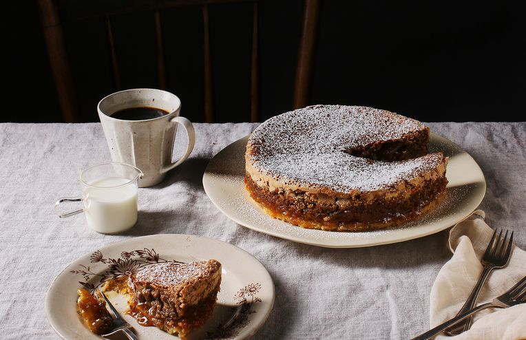 A Tender Walnut-y Torte with a Touch of Magic