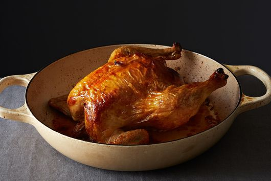The Key to *Way* Better Roast Chicken Is This One Pantry Ingredient