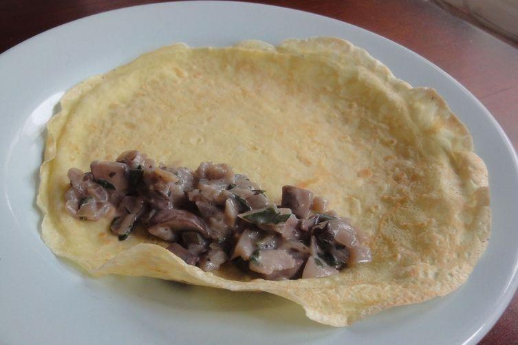 Mushroom Crespelle