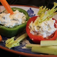Three Cheese Dip with Crudités