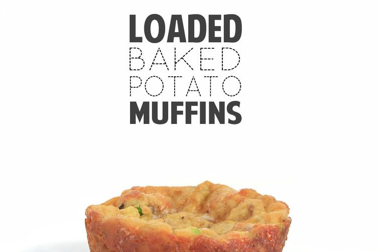 Loaded Baked Potato Muffins To Go