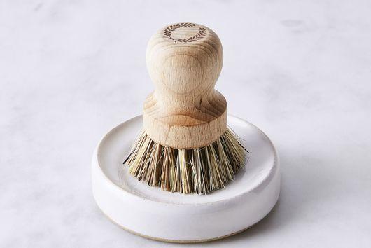 Handmade Scrub Brush Set with Natural Fiber Bristles