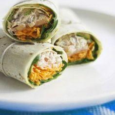 tuna and lemon wrap recipe