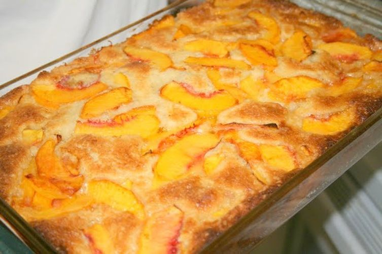 Fruit Cobbler With Cake Mix Topping