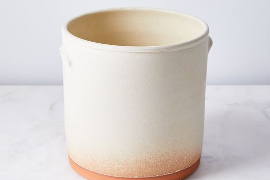 Handthrown Rustic Ceramic Utensil Jar