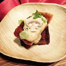 Gochujang Pork Belly & Eel with White BBQ Sauce