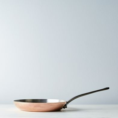"Mauviel M'héritage Copper 10.2"" Frying Pan"