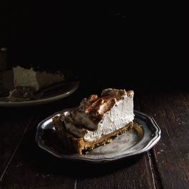 Cinnamon Dulce de Leche Tart with Whiskey Whipped Cream
