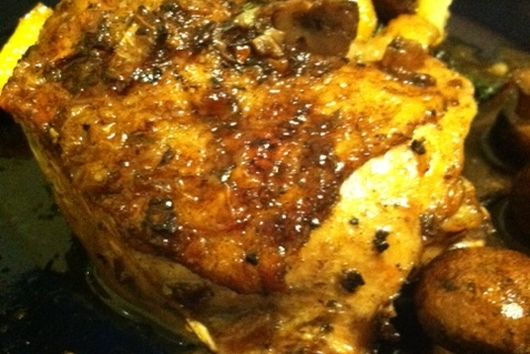 Pan Seared Oven Roasted Chicken
