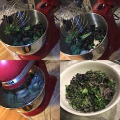 Massaged Kale Salad in a Minute