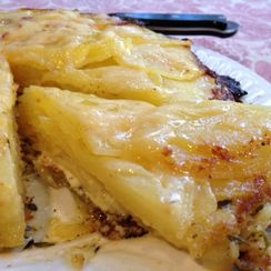 Magical French Potato Cake