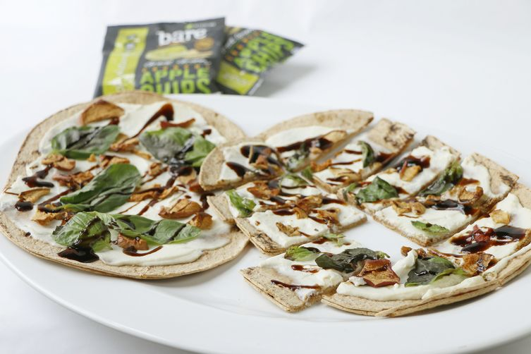 Basil Ricotta Bare Apple Chip Flatbread