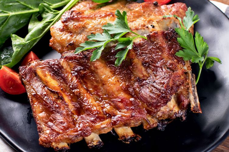 GRILLED ITALIAN PORK RIBS