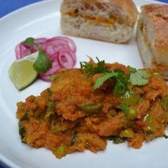 Mumbai 'ishtyle' Pao Bhaji