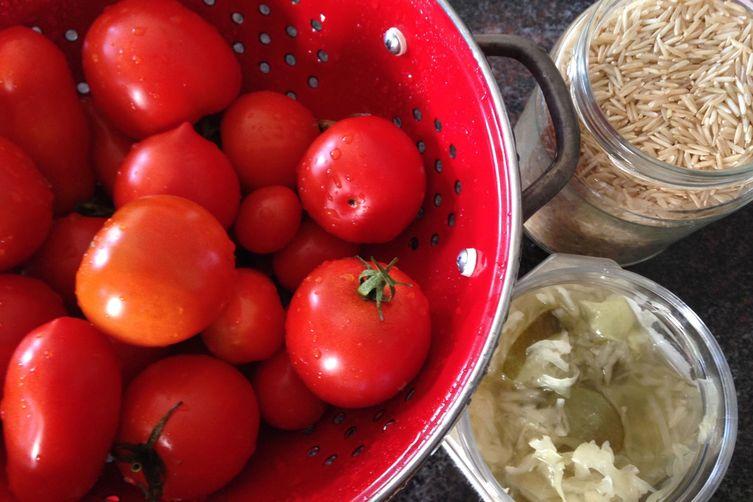 Tomatoes with Sauerkraut: A Casserole