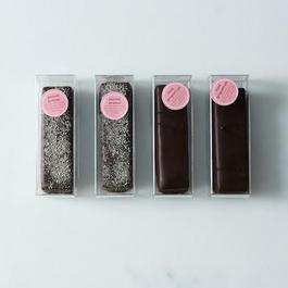 Mint Grapefruit & Peanut Butter Pretzel Chocolate Bars (Pack of 4)