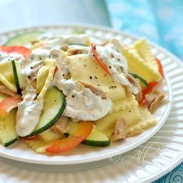 Tuna-Ravioli Salad