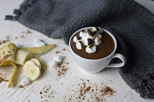 Banana Hot Chocolate