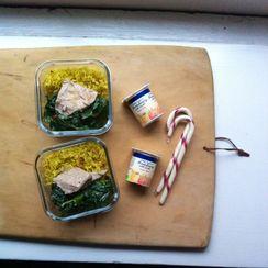 A Stuck Pot Rice Salad