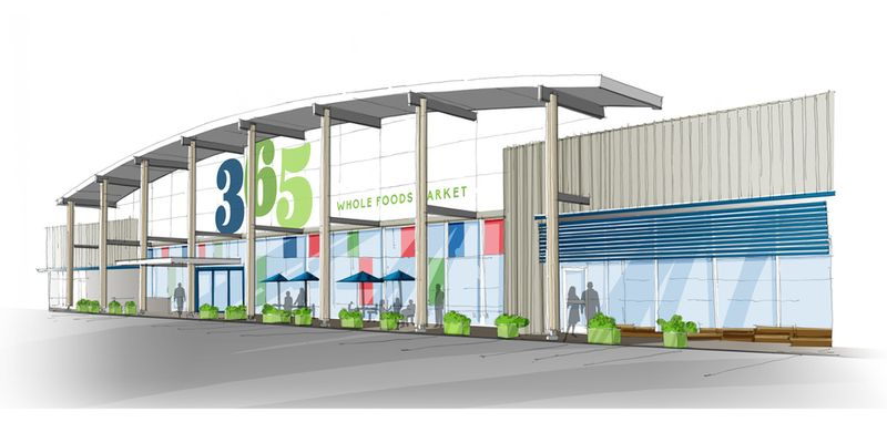A rendering of the Silver Lake store.