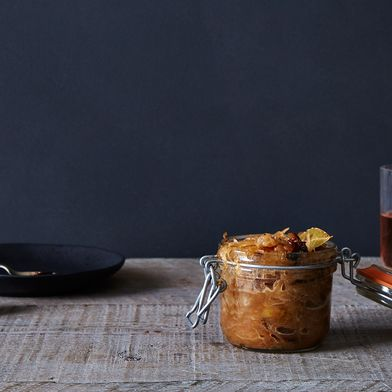 Caramelized Sauerkraut with Prunes, Herbs, and Honey