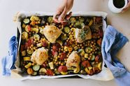 How to Build an Entire Meal on a Humble Sheet Pan (& Celebrate Your Smarts)