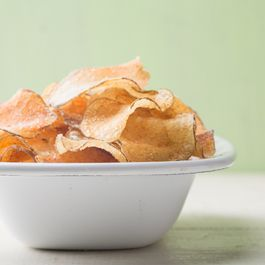 homemade potato chips by Joyce Hackwell