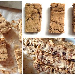Chewy Chickpea Bars (Decadent and Sweet)
