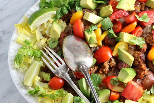 Crazy-good smashed potato salad