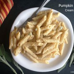 Vegan Pumpkin Sage Cream Sauce