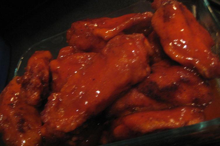 Sweetly Hot Fried Chicken Wings