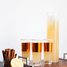 Sparkling Fall Punch