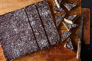 Dark Chocolate Coconut-Orange Burfi