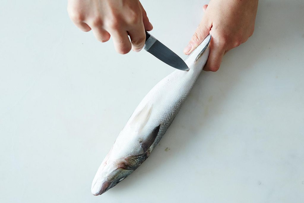 How to Gut a Fish on Food52