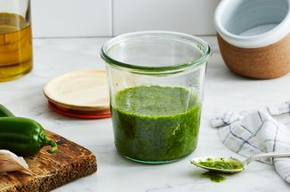 Jalapeño–Cilantro Stem Marinade Recipe on Food52