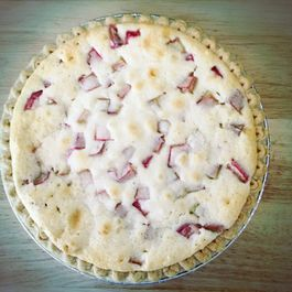 Rhubarb Cream Pie