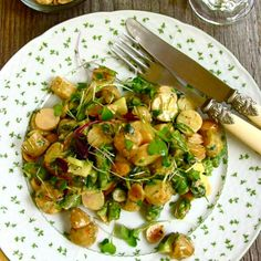 Rounds, Roots and Shoots: A Vernal Salad