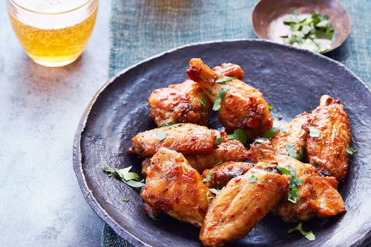 Air-Fryer Indonesian-Style Chicken Wings